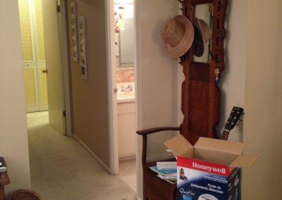 hallway and coat rack - CD old