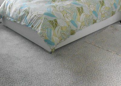bedroom - rug - silver leopard = 3 - CD