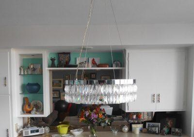 crystal chandelier + mirror back - 2 - CD